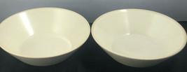 "Sango Soup Salad Serving Bowls Checkers Cream 5108 (2) 7-3/4"" - $22.77"