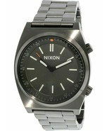 BRAND NEW NIXON BRIGADE A1176-2947 GUNMETAL STAINLESS STEEL MEN'S WATCH  - £121.13 GBP