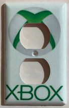 XBox green logo Switch Outlet Toggle & more Wall Cover Plate Home decor image 14