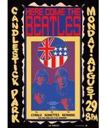 The Beatles CANDLESTICK PARK San Francisco, August 29, 1966 Stand-Up Dis... - $15.99