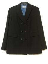 Travis Ayers Womens Brown with Blue Stripe Blazer Jacket Size 18 New - $22.67