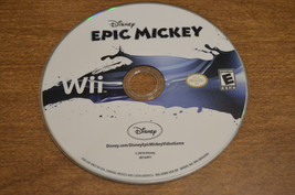 Disney Epic Mickey (Nintendo Wii, 2010) DISC ONLY - $4.98