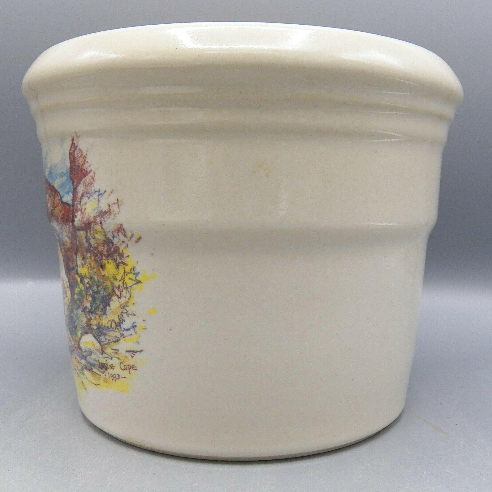 Zanesville Stoneware Zane Grey At Rainbow Bridge Leslie Cope Vase Pot Pottery image 7