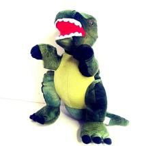 "Tyrannosaurus Rex Dinosaur 12"" Plush Stuffed Toy Doll Green T-Rex Progre... - $18.33"