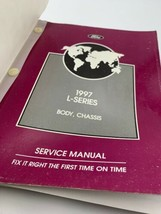 Ford L Series Body Chassis Service Manual 1997 Vintage Original 20- - $40.80