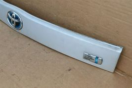 2010-15 XW30 Prius Trunk Lift Gate Handle Garnish Trim Panel Tag Light Cover image 5