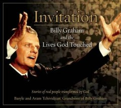 Invitation: Billy Graham and the Lives God Touched [Book]  *New* - $9.00