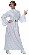 Star Wars Womens MED (10-14) Classic Princess Leia Costume Deluxe New - $33.65