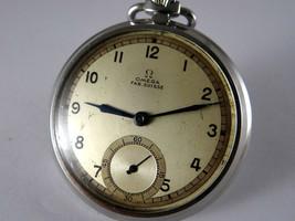 40's omega CAL 38.5 LT1 Sumoseko bosom watch hand winding Vintage antique Old - $526.18