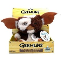 "Neca Gremlins Electronic Dancing Plush Doll Gizmo, Measures 8"" Tall - $41.13"