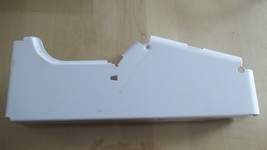 GE End Cover Right White WB07K10001 - $12.95