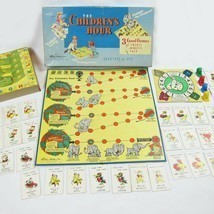 Vintage 1958 The Children's Hour Parker Brothers 3 Games in 1, Each 20 m... - £18.12 GBP