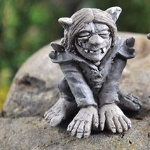 Fiddlehead Fairy Village - Gardening Fairies - Snark the Troll - $15.61
