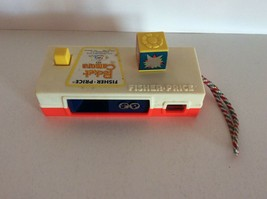 Fisher Price Pocket Camera Zoo #464 Works 1974 Vintage Childs Toy  - $9.16