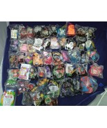 New • Lot of 50 Happy Meal McDonalds 1999-2018 SEALED, ty, Barbie, etc.. - $29.69