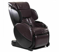Human Touch Espresso Brown Bali Massage Chair Recliner w Arm Calf + Foot Massage image 6