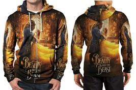 beauty and the beast live action image Hoodie Zipper Fullprint Men - $46.80