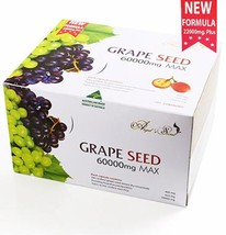 Angel's Secret Grape Seed Extract 60,000 Mg  Natural Raw Materials 180 t... - $168.30