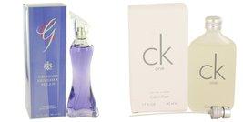 Gift set  G BY GIORGIO by Giorgio Beverly Hills Eau De Parfum Spray 3 oz... - $42.12