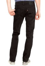 NEW LEVI'S STRAUSS 511 MEN'S ORIGINAL SLIM FIT JEANS PANTS BLACK 511-1507 image 2