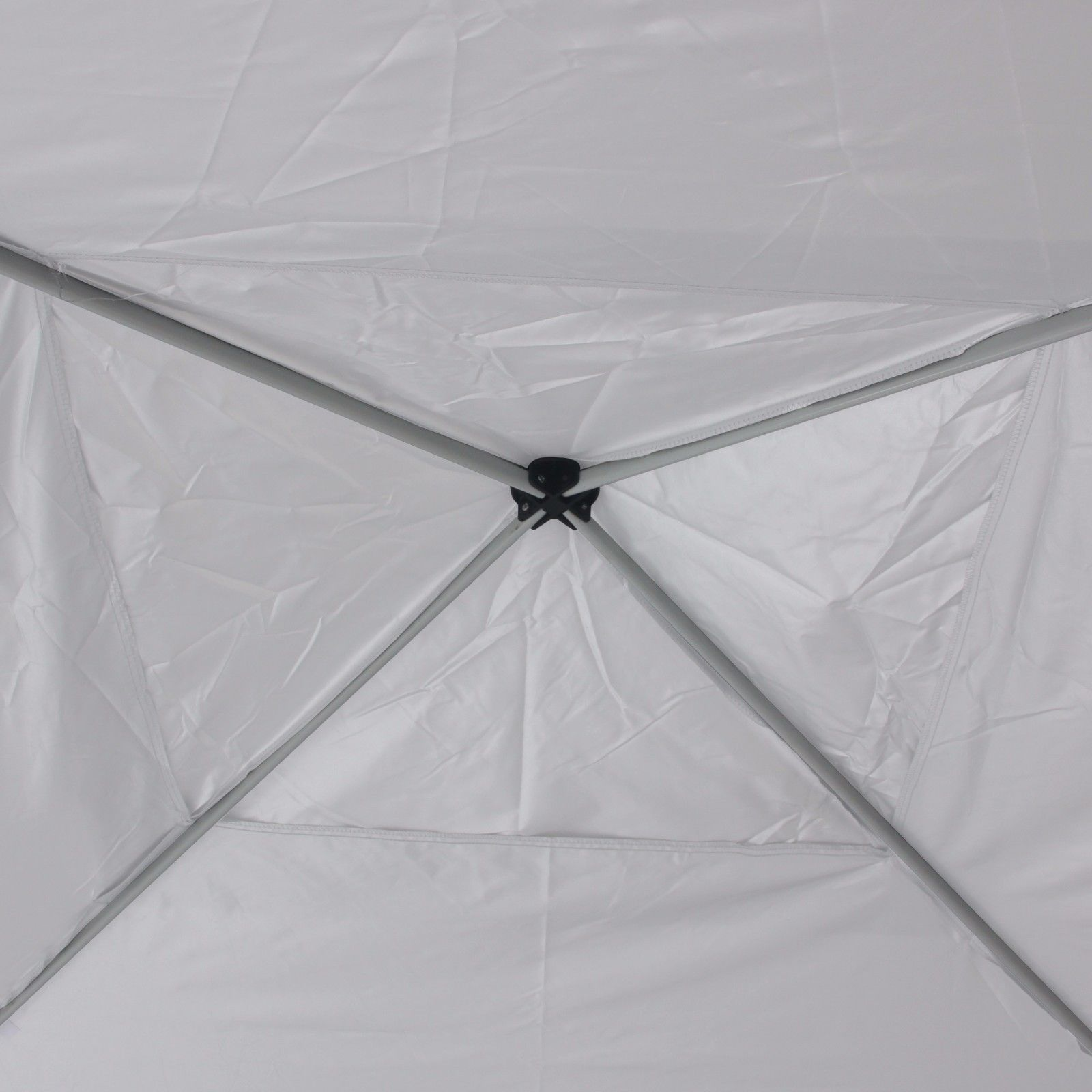 Pop Up Canopy Tent 118'' x 118'' UV Coated Outdoor Party Gazebo with Carry Bag