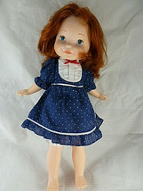 VTG Fisher Price 1980's My Friend Mandy Doll Red Hair Freckles in Dress NICE - $19.79