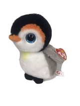 """TY Beanie Baby 6"""" PONGO the Penguin Plush Stuffed Animal Toy Ty Heart Tags - $9.74"""