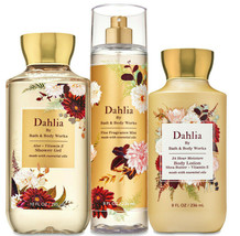 Bath & Body Works Dahlia Trio Gift Set  - $45.95