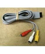 Nintendo RVL-009 Wii AV Cable Genuine OEM - $10.32