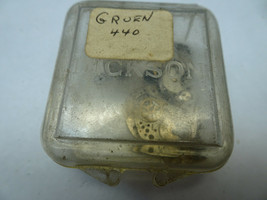 GRUEN CAL 440 VINTAGE WATCH MOVEMENT IN PARTS FOR RESTORATIONS - $116.10