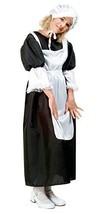RG Costumes Pilgrim Girl Costume, Black/White, Large - $33.45