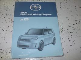 2009 Toyota SCION xB XB Electrical Wiring Diagram Service Shop Repair Manual EWD - $89.09
