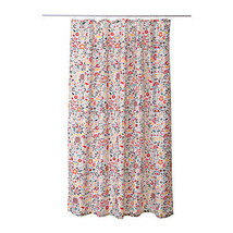 Ikea Gorgeous Akerkulla Fabric Retro Pattern Shower Curtain ÅKERKULLA -b788 - $20.42
