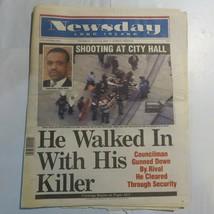 Newsday Long Island July 24 2003 Shooting at City Hall James Davis Othan... - $39.99