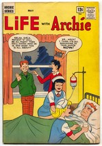 LIFE WITH ARCHIE #27 1964- Silver Age- Nurse cover VG/F - $55.87