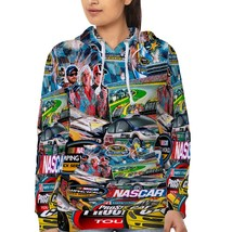 Nascar Stickerbomb  Hoodie Fullprint for women image 2