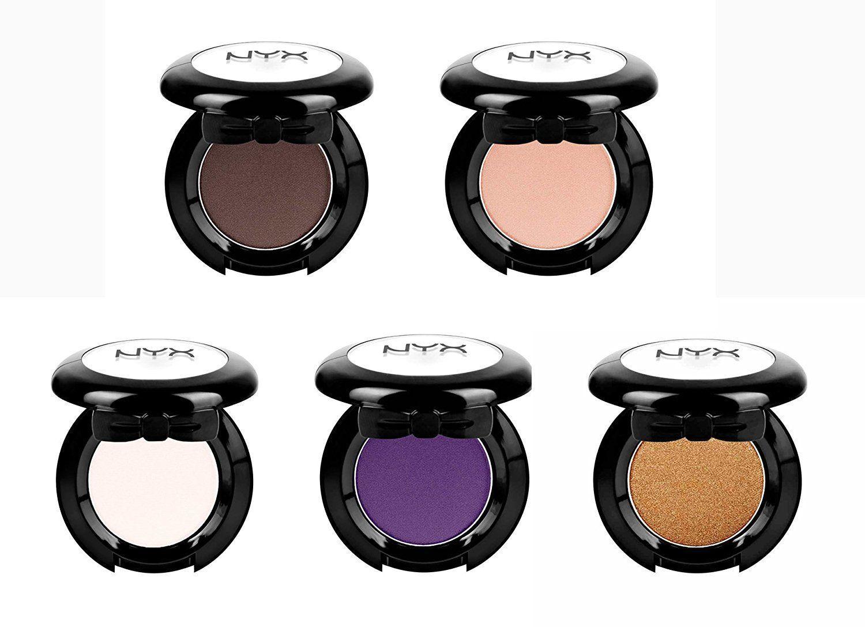 Nyx Cosmetics Runway Chic 5pcs Single EYE Shadows SET