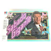 Sabado Gigante Board Game Bilingual Spanish Milton Bradley New Sealed 19... - $44.50