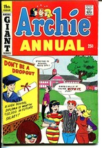Archie Annual #19 1967-Betty-Veronica-Giant Issue-VG/FN - $57.11