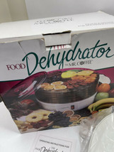 Mr. Coffee Food Dehydrator Replacement Base &  Lid Only - No Trays - Works - $19.78