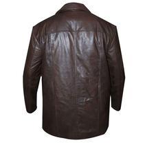 24 S8 Jack Bauer Men's Brown Biker Leather Jacket/Coat image 2