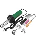 220V 1600W Heat Gun Plastic PVC Floor Welding Torch Hot Air Blower With ... - $176.39