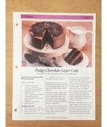 Great American Home Baking Recipe Cards (replacements) from 1992 set - $2.00