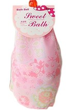 Set of 2 Dreamlike Organza Exfoliator Bath Ball Body Cleansing Scrubber/Pink