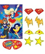 DC Super Hero Girls Party Game Birthday Party Supplies Nickelodeon 2-8 P... - $8.86