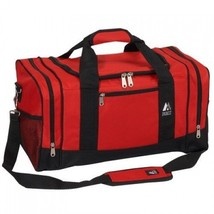 Carry On Duffel Bag Luggage Gear Gym Travel Sports Camping Tote Pockets ... - $31.52