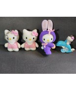 Sanrio Collectors Hello Kitty Bunny Dolphin Keychain lot of 4 - $28.71