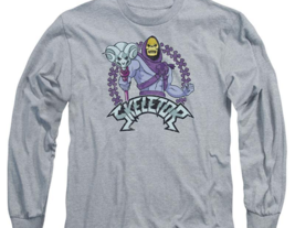 Skeletor Masters of the Universe Retro 80's Animated series long sleeve DRM104B image 3