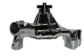 "GM BBC LWP 396 402 427 454 8-Blade Aluminum 5/8"" Volume Chrome Water Pump image 7"