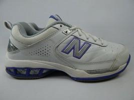 New Balance 806 Size US 9.5 M (B) EU 41 Women's Tennis Court Shoes White WC806W
